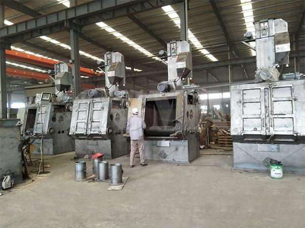 What is the relationship of the maintenance and service life of the tumble belt shot blasting machine 1