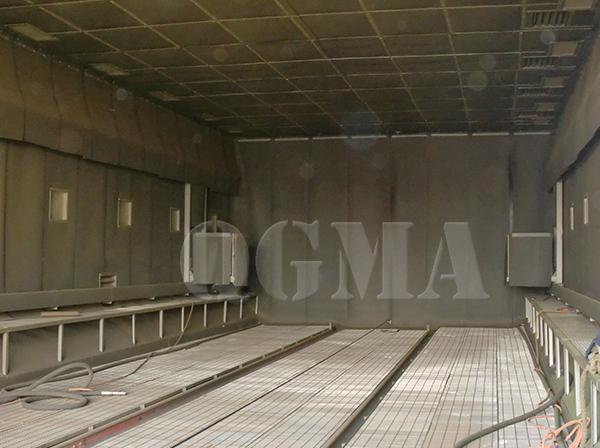 How many indispensable benefits the sandblasting room have 2