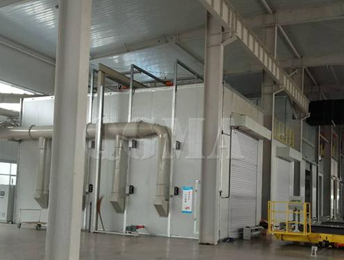 How many indispensable benefits the sandblasting room have