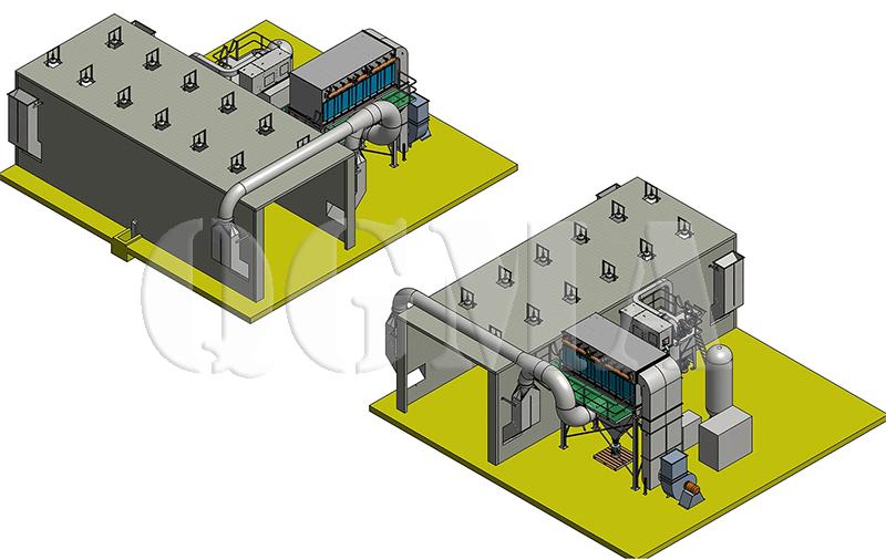 what is sandblasting room 11